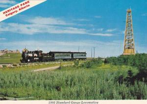 Heritage Park, 1905 Standard Gauge Locomotive, Calgary, Alberta, Canada, 1970...