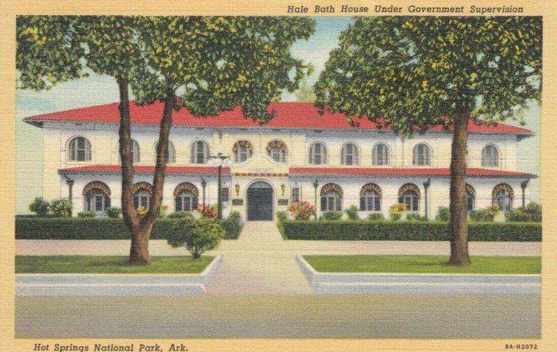 HOT SPRINGS National Park, Arkansas, 1930-40s; Hale Bath House