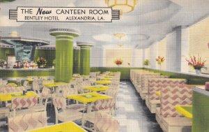 ALEXANDRIA, Louisiana, 1930-1940s; The New Canteen Room, Bentley Hotel