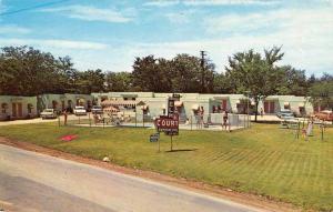 Mountain Home Arkansas Elm Court Swimming Pool Vintage Postcard J56786
