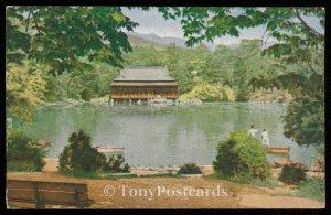 A Serene scene in Chang Kyung, Wun Park Seoul