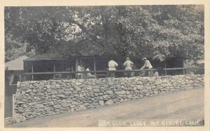 RPPC Oak Glen Lodge Mt. Resort Claremont, CA c1920s Pierce Vintage Postcard