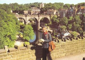 Royal Mail Postcard, The Viaduct, Knaresborough, North Yorkshire 57S