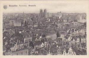 Belgium Brussells Panorama