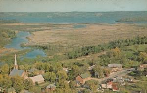 KEENE , Ontario , 1950-60s ; Aerial View