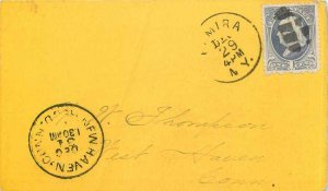Letter Covers USA 1c for West Haven