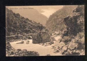 049493 CAUCASUS Military ossetic road Gorge Kasara