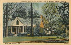 Vice President Alben Barkley Home, Paducah, Kentucky KY ???? Linen