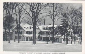 Massachusetts Amherst The Lord Jeffery In Winter
