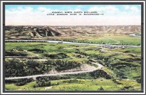 North Dakota, Badlands Little Missouri River - [ND-003]