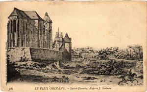 CPA Le Vieil ORLÉANS - St-Euverte (164244)