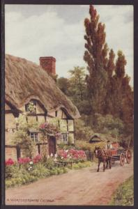A Worcestershire Cottage Postcard