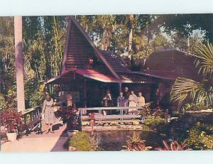 Pre-1980 MCKEE JUNGLE GARDENS BALINESE ENTRACE Vero Beach Florida FL AF9051@