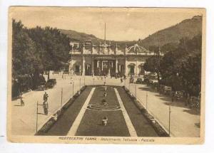 Montecatini Terme- Stabilimento Tettuccio-Facciata, Italy, PU 1944