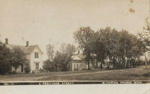 RP: BLOOMING PRAIRIE , Minnesota , 1908 ; Residence Street