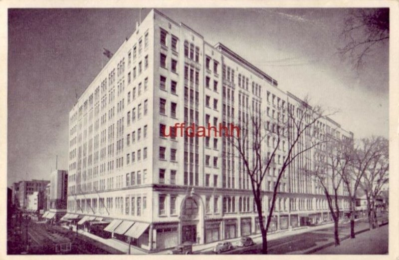 The T. EATON Co. LIMITED DEPARTMENT STORE. MONTREAL QUEBEC CANADA 1957