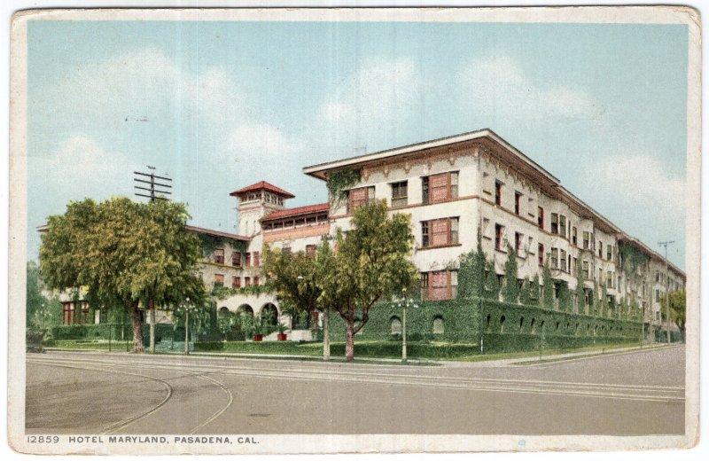Pasadena, Cal., Hotel Maryland