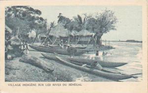 Senegal Village indigene sur les Rives du Senegal