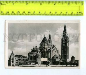 256012 HUGARY Szeged w/ folded 10 views Vintage photo postcard