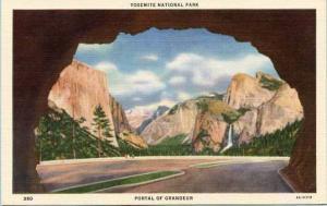 CA - Yosemite National Park. Portal of Grandeur