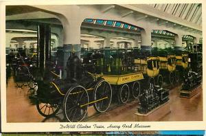 DeWitt Clinton Train, Henry Ford Museum Dearborn Michigan MI Chrome
