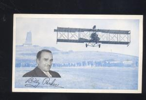 BILLY PARKER PHILLIPS 66 PETROLEUM CO. AVIATION BIPLANE OLD