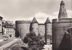 RP: WARSZAWA , Poland , 40-50s : Baszta Prochowa i Barbakan
