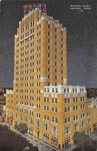 Texas Abilene    Wooten Hotel