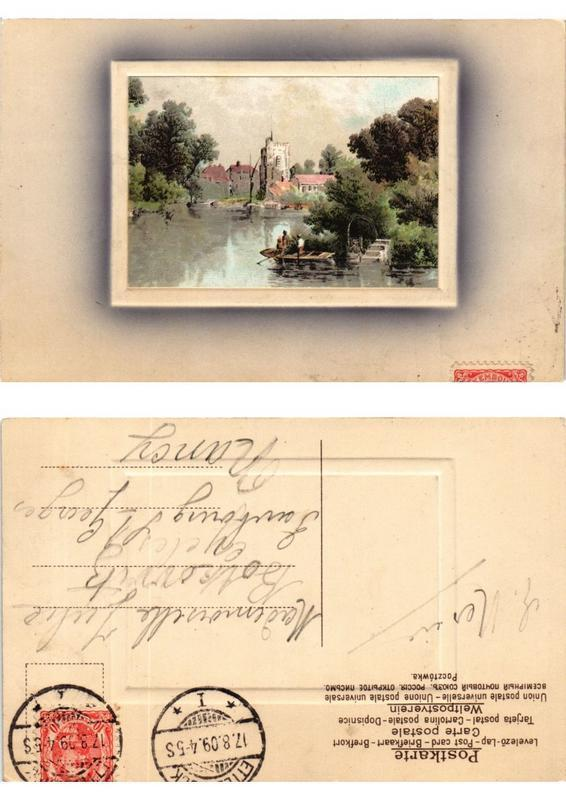 CPA AK Meissner & Buch Litho (730525)