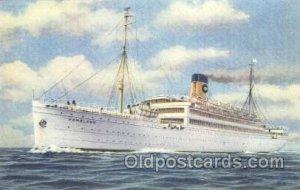S.S. Homeland Ocean Liner, Oceanliner Ship Unused