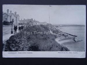 Essex DOVERCOURT from Upper Parade & BANDSTAND c1905 Postcard by Photochrome