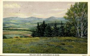 ME - Mount Saddleback