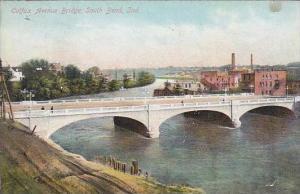 Indiana South Bend Colfax Avenue Bridge 1908