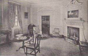 Virginia Mount Vernon West Parlor Home Of George Washington Albertype