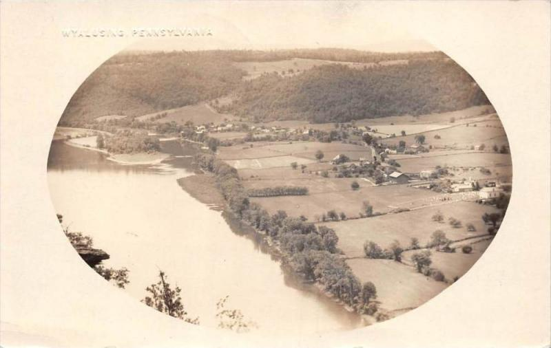 19736 Aerial View of Wyalusing PA RPC