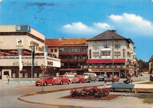 Waldkraiburg Oberbayern Am Stadtplatz Auto Vintage Cars Square Bank
