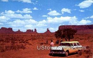 Monument Valley, Arizona, Post Card