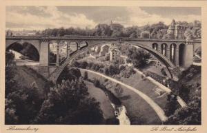 Partial Scene, Bridge, Le Pont Adolphe, Luxembourg, 1910-1920s