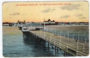 Old Orchard Beach, Me, Old Orchard Beach From The Pier