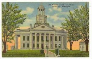 Old Warren County Courthouse, Vicksburg, Mississippi, 1930-40s