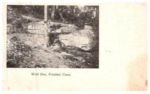 Connecticut Pomfret ,Wolf Den