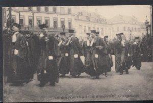 Belgium Postcard - Funerailles De Roi Leopold II, 22 Decembre 1909, La Magist...