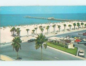 Pre-1980 BEACH SCENE Clearwater Beach - Near Tampa Florida FL AE9404