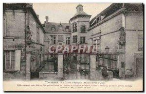 Old Postcard Bank Caisse d & # 39Epargne Thunder Old Hotel d & # 39Uzes