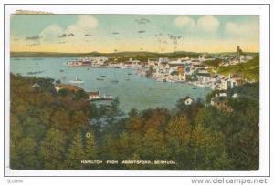 Hamilton From Abbotsford, Bermuda, PU-1922