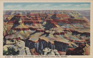 Arizona From Near El Tovar Hotel Grand Canyon National Park Fred Harvey