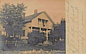 OWEGO NY~GLENMARY-OLD HOME OF NATHANIEL P WILLIS AUTHOR-POET~REAL PHOTO POSTCARD