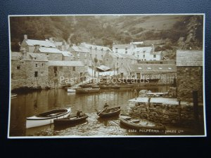 Cornwall POLPERRO Harbour & Ferry Crossing c1922 RP Postcard by Judges 6682