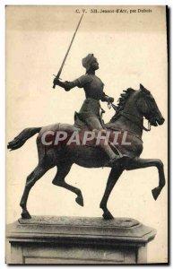 Old Postcard Jeanne d & # 39Arc By Dubois