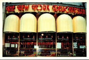 New York City The New York Delicatesssen 500 Seat  Art Deco Restaurant